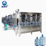 Máquina que capsula de relleno que se lava de la botella de agua pura del barril del cubo del compartimiento del tarro de 3/5 galón