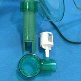 Mascherina registrabile medica Venturi dell'ossigeno del PVC per uso dell'ospedale (verde)