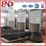 Fornace a gas di trattamento termico del focolare del carrello ferroviario di movimento veloce di 50 Mt