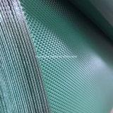 Correia transportadora do PVC do fornecedor de China com teste padrão do diamante