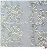 Flache Stickerei auf Mesh-Flk-087-Gm