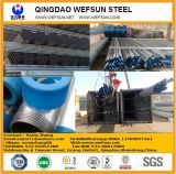 Dimensiones galvanizadas sumergidas calientes del tubo de acero