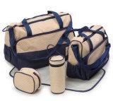 5 dans 1 sac d'emballage multifonctionnel de maman de sac de couche de couche-culotte de bébé de maman