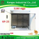 Meilleur incubateur certifié par CE d'oeufs de canard de Digitals des prix à vendre (KP-25)