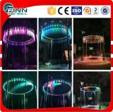 Indoor u Ooutdoor hecho en fábrica LED Digital Water Curtain Fountain