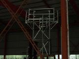 최신 복각 전기 요법 통신 3 다리 관 안테나 탑