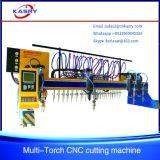 CNC van de brug de Scherpe Machine Kr-Pl van de Vlam van het Plasma van het Staal