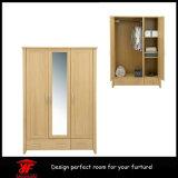 عال لمعان مرآة يصمّم غرفة نوم [ألميره] خشبيّة خزانة ثوب