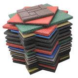 옥외 고무 도와 색깔 고무 도와 사각 고무 도와 Colorful Rubber 포장 기계