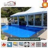 Напольные Extendable шатры партии шатёр PVC высокого пика для 2000 гостей