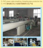 Linha de produção de proteção da extrusão da tubulação do cabo elétrico do PVC CPVC UPVC da alta qualidade do fabricante/fatura da linha da extrusão da máquina \ Tubulações