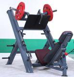 Il piatto di prezzi competitivi ha caricato la strumentazione di ginnastica della pressa del piedino per addestramento libero del peso
