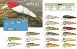 Attrait de flottement plongeant de pêche du vairon joint première par pente 95mm de pêcheurs