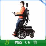 페이지 관제사를 가진 새로운 Jbh 전기 서 있는 힘 휠체어