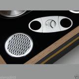 Humidor de madeira do charuto do cedro preto de Cohiba com cortador & cinzeiro (ES-EB-011)