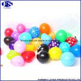 """10 """" En71 1/2/3 Standaard Kleurrijke Ronde Geschikt om gedrukt te worden Brief van het Patroon van de Ballon"""