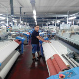 Jlh 9200 jacquard della ratiera della camma di sei colori che si libera del telaio per tessitura del tessuto della tenda