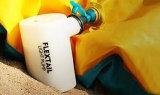 Bomba de ar elétrica recarregável portátil para a inflação e a deflação infláveis dos brinquedos da praia ao ar livre