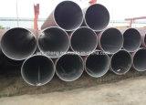 24inch tubo de acero, tubo de acero de 609.6m m Sch 40, Dn600 ERW GR. Tubo de acero de B