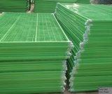 rete fissa provvisoria rivestita della rete fissa della polvere standard di 6feetx10feet Canada/Temp della costruzione