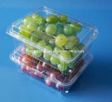 Cassetto impaccante impaccante della frutta del contenitore della fragola di plastica dell'animale domestico 500 grammi