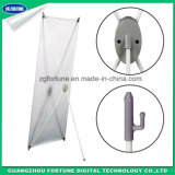 Stand à la mode de drapeau de l'aluminium X de plaque de 2017 ovales