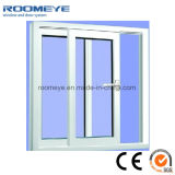 Marco blanco Windows del PVC del color con el vidrio Tempered Inferior-e doble