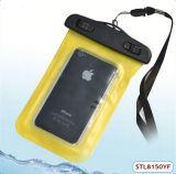 Ipx8 TPUのスマートな電話アクセサリはiPhone5Sのための箱を防水する