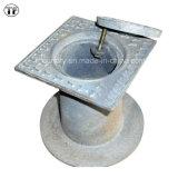 Boîtes malléables de surface de fer de fonte