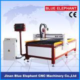Máquina barata do plasma do CNC com a tabela da estaca do plasma