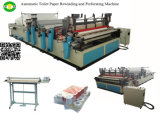 완전히 Automatic Paper Rewinding와 Toilet Paper Cutting Machine