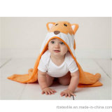 De dieren ontwerpen de Katoenen van 100% Badhanddoek Met een kap van de Baby met Uitstekende kwaliteit