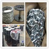 Breve catena a maglia d'acciaio galvanizzata