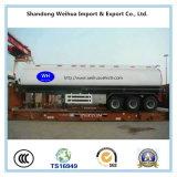 carro de petrolero del aceite/combustible 50cbm/acoplado del petrolero del fabricante