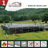 党イベントのテントのための調節可能な木のフロアーリングシステム