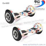 Популярный самокат E- баланса собственной личности батареи лития колес 10inch 2