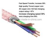 Tipo-c reversible del USB 3.1 del cable de datos del cable 10gbps