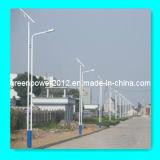 Luz de calle solar con CE