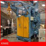 Type machine de bride de fixation de grenaillage équipée de crochet ou d'élévateur