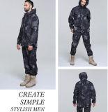 As forças armadas Windproof ao ar livre da alta qualidade da impressão do Sublimation da prova da água camuflam o revestimento do terno
