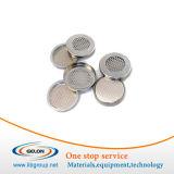 Casos de la célula de la moneda de la serie de Cr20xx con los anillos o para la investigación de la batería de litio (CR20XX)