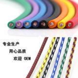 3m Kleurrijke Schede 3pin van Nylong van de Legering van het Zink Kabel XLR