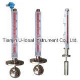 De tweekleurige Magnetische Vlakke Indicator van de Vlotter - het maat-Water van het Niveau de Meter van het Niveau