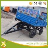 판매를 위한 트레일러를 기울이는 2개의 바퀴 트레일러와 4개의 바퀴 농장 트레일러 트랙터