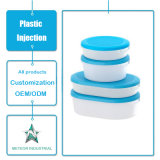 Подгонянная коробка пластичной упаковки еды Tableware продуктов прессформы впрыски пластичной прозрачная сохраняя