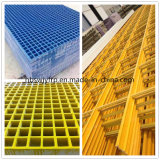 GRP FRP Pultruded und Molded Grating in Constructions