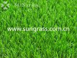 gazon de synthétique de 40mm pour le jardin ou l'horizontal (SUNQ-HY00161)