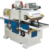 Planeuse alimentante automatique de banc avec les machines de travail du bois spiralées de lame