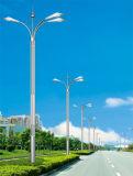 Indicatore luminoso di via doppio di energia solare LED del braccio di disegno unico