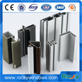 Aluminium deux profils de guichet de série de longerons